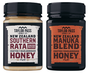Taylor Pass Honey Co Taylor Pass Artisan Honey Selection Limited Edition Rata and Manuka Blend