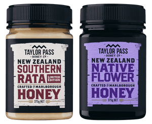 Taylor Pass Honey Co Taylor Pass Artisan Honey Selection Limited Edition Rata and Native Flower