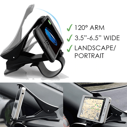 Image of Clipper - The #1 Rotatable Car Phone Clip Holder