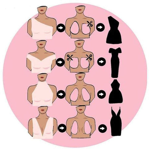 Image of LIFT UP INVISIBLE BRA TAPE
