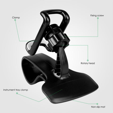 Clipper 360 Super Car Phone Holder 360-Degree Rotation