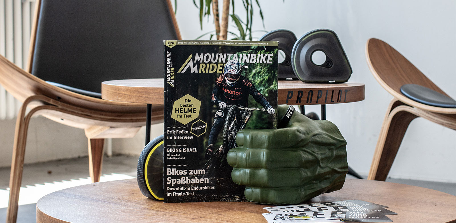 Praep ProPilot Review Test Mountainbike Rider Magazine