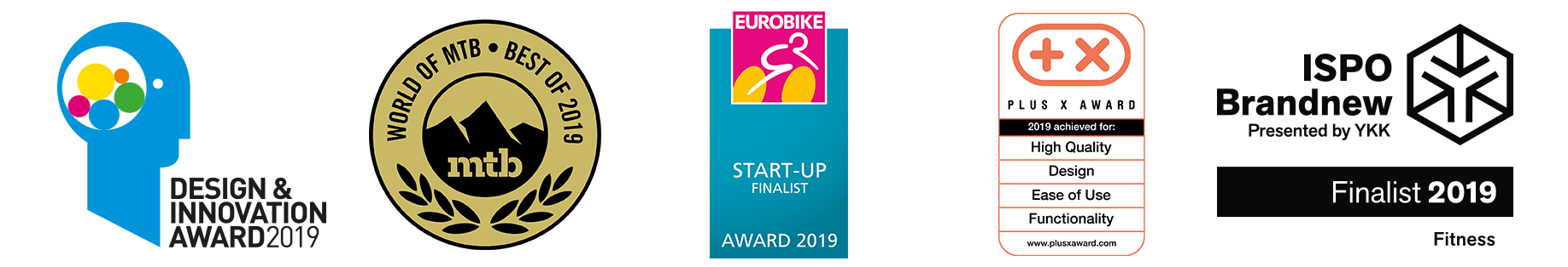 Praep ProPilot Design Innovation Award 2019 WOMTB Best of 2019 PlusX Award Ispo Brandnew 2019 Eurobike StartUp Award