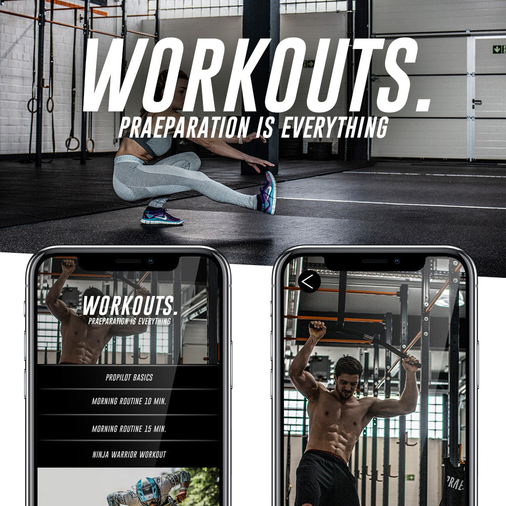 Praep ProPilot App - Workouts