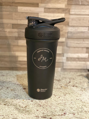 Insulated Jeanne Marie Fitness Blender Bottle