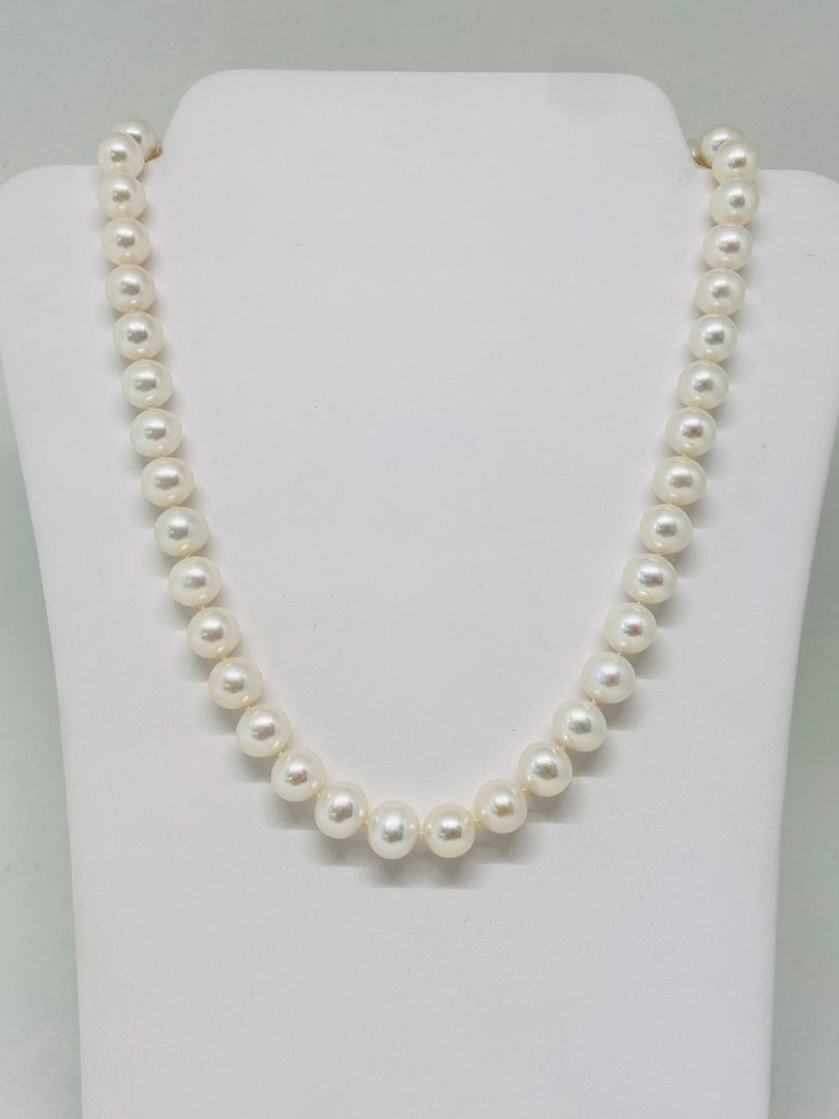 Freshwater Pearls with Swivel Lobster Claw Clasp Necklace