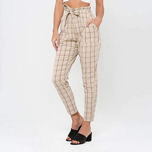Plaid Vintage Pants