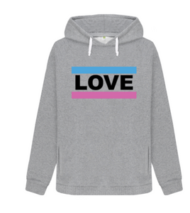 Blossom and Wren Love Slogan Hoodie