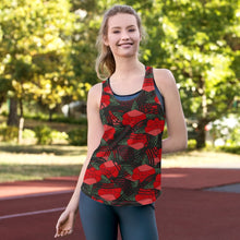 Load image into Gallery viewer, English Rose Women's Racerback Tank - BlossomandWren