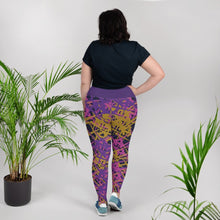 Load image into Gallery viewer, Marcia Abstract Print Plus Size Leggings - BlossomandWren