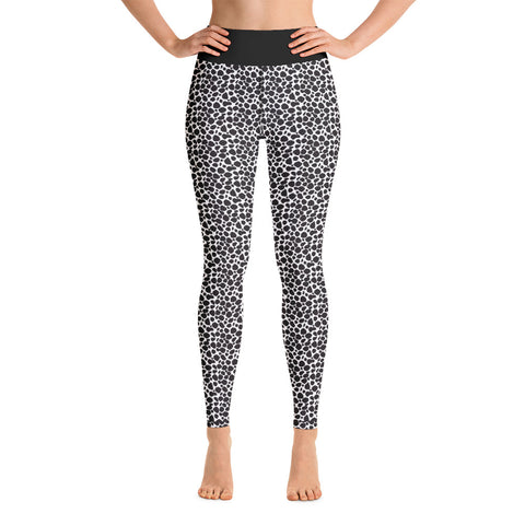 Rage Print Yoga Leggings