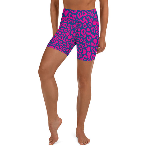 Pink Rage Yoga Shorts