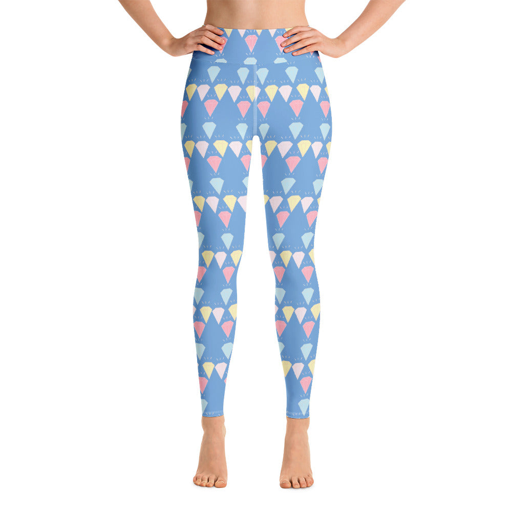 Homage to the Diamonds Yoga Leggings