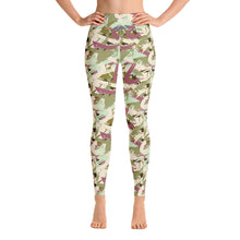 Load image into Gallery viewer, Camo abstract yoga leggings