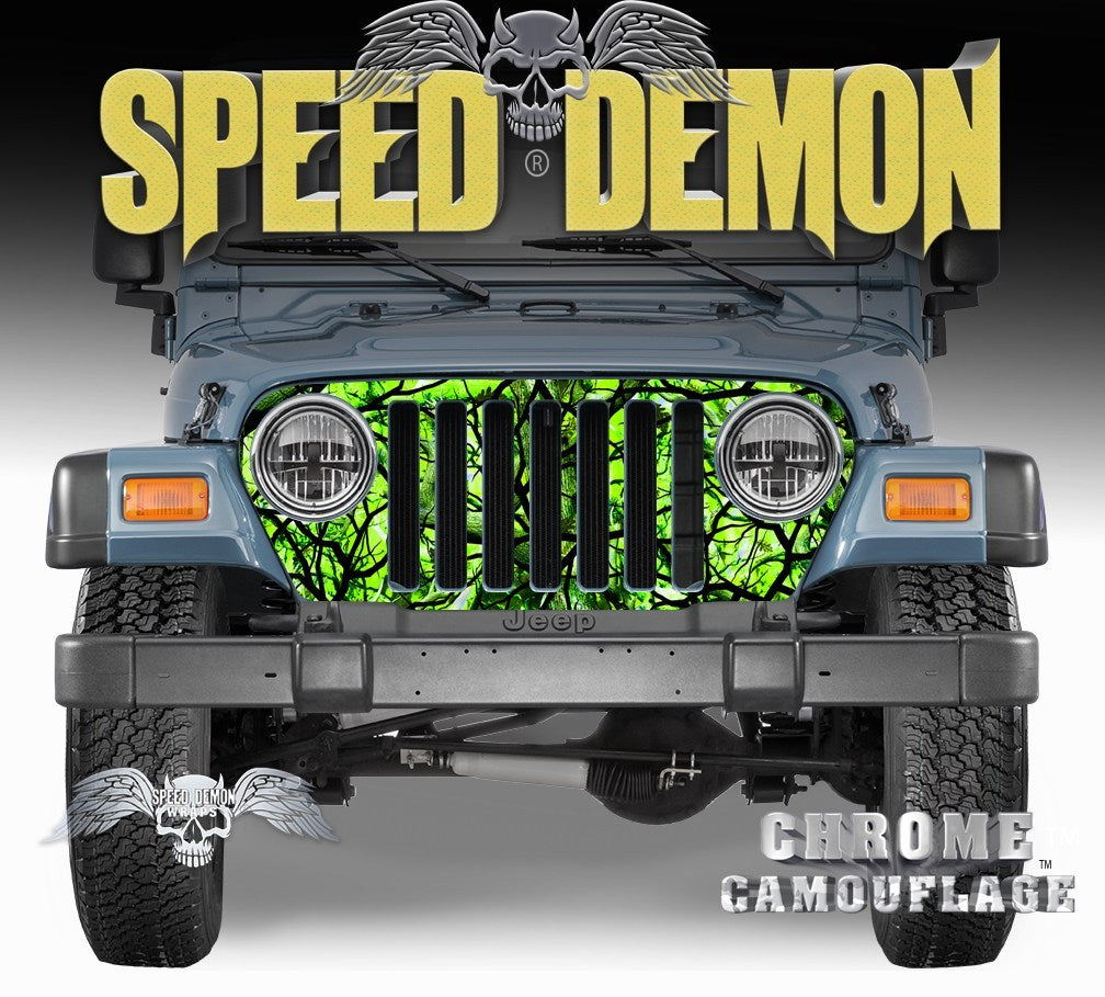 1997-2006  Wrap Zombie Bile - Speed Demon Wraps