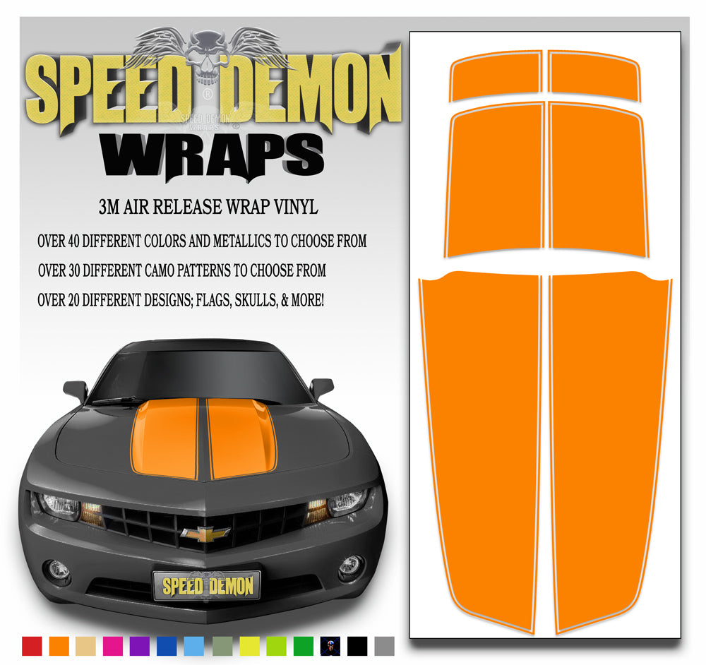 Camaro Stripes Orange