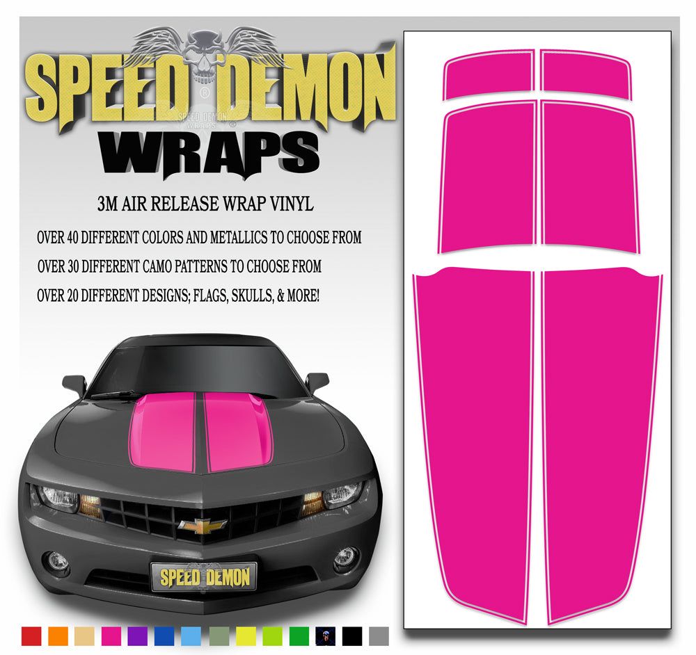 Camaro Stripes Pink