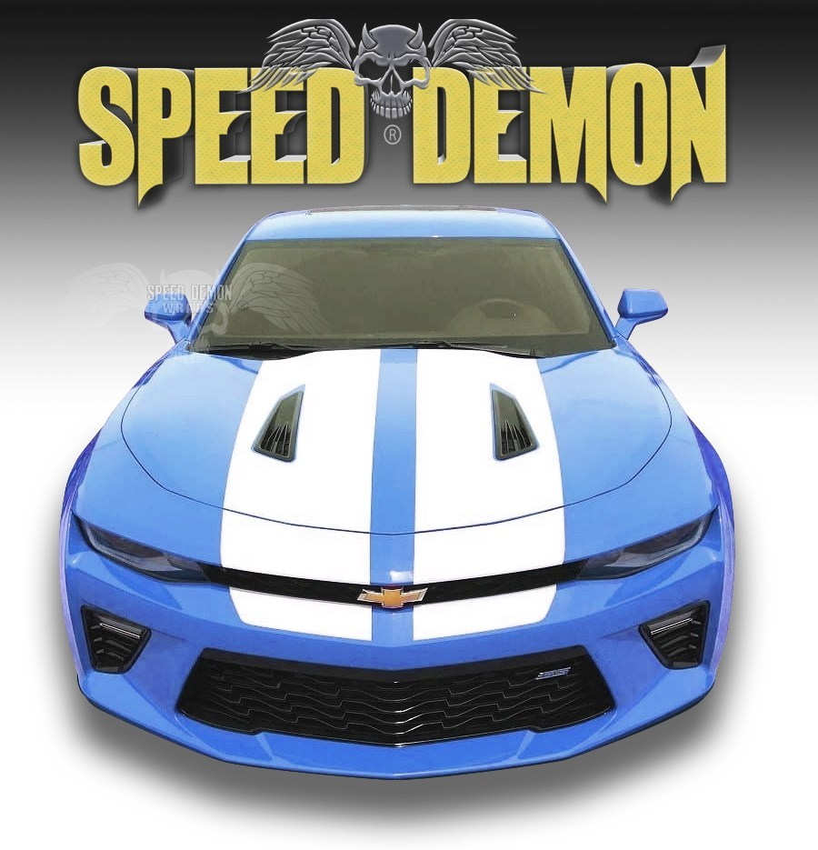 Camaro Stripes 2016-2019 - Speed Demon Wraps