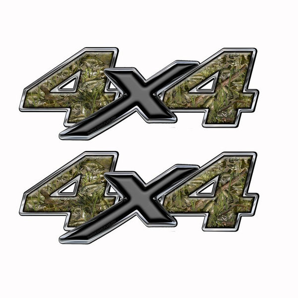4x4 Truck Bed Camo Decal Bass Fishing Camouflage - Speed Demon Wraps