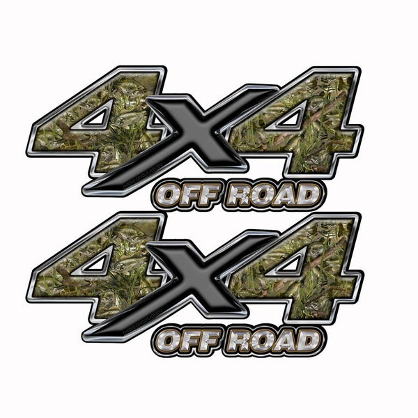 4x4 OFF ROAD Truck Bed Camo Decal Bass Fishing Camouflage - Speed Demon Wraps