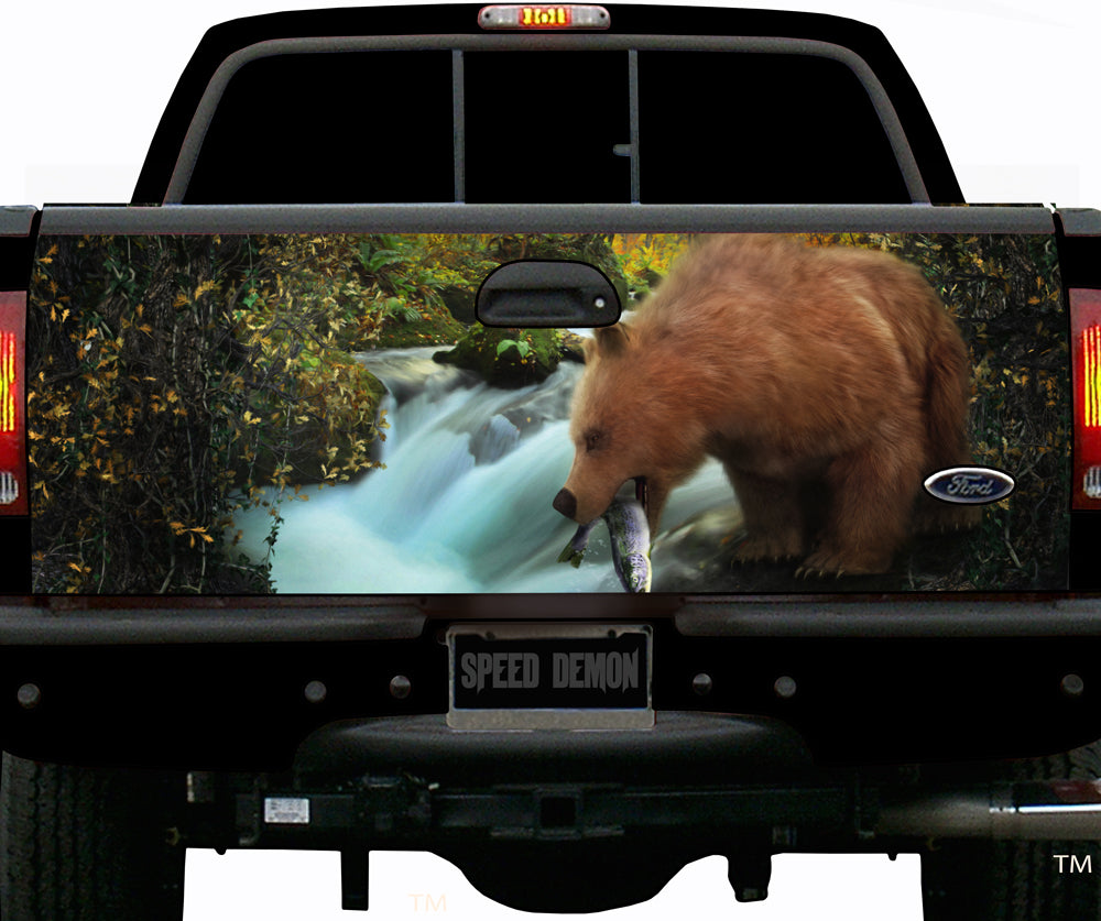 Bear Hunting Tailgate Wrap