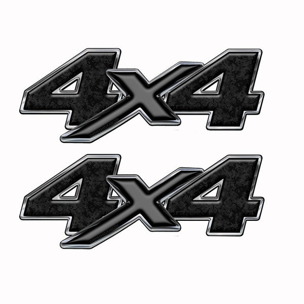 4x4 Truck Bed Camo Graphics -Black Digital Camouflage (Copy) - Speed Demon Wraps