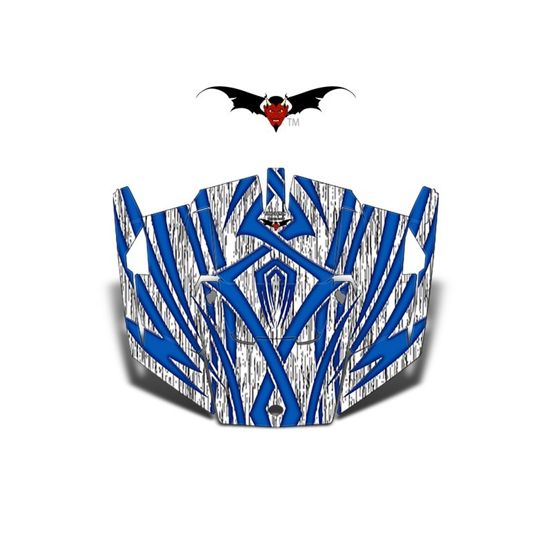 Blue-Tribal_XP-1000-Hood-Graphics