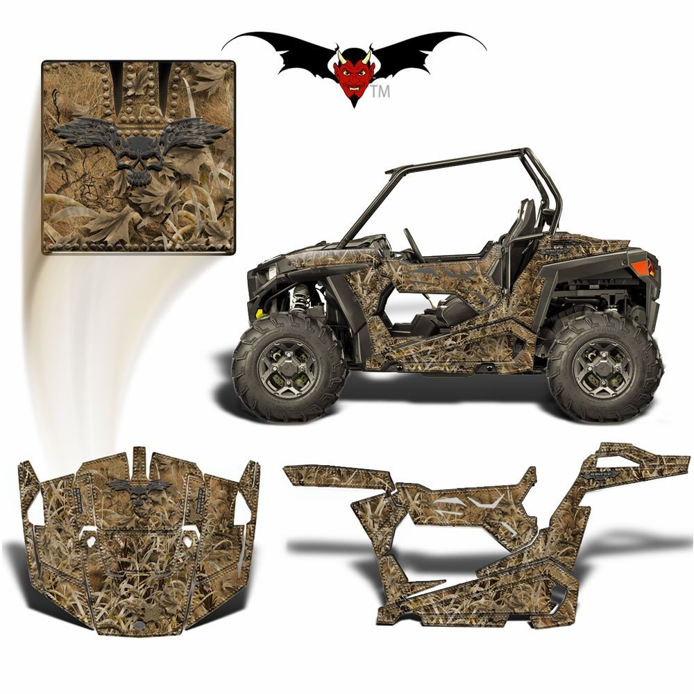 RZR 900 S GRAPHICS WRAP -  DEAD DUCK CAMOUFLAGE - Speed Demon Wraps