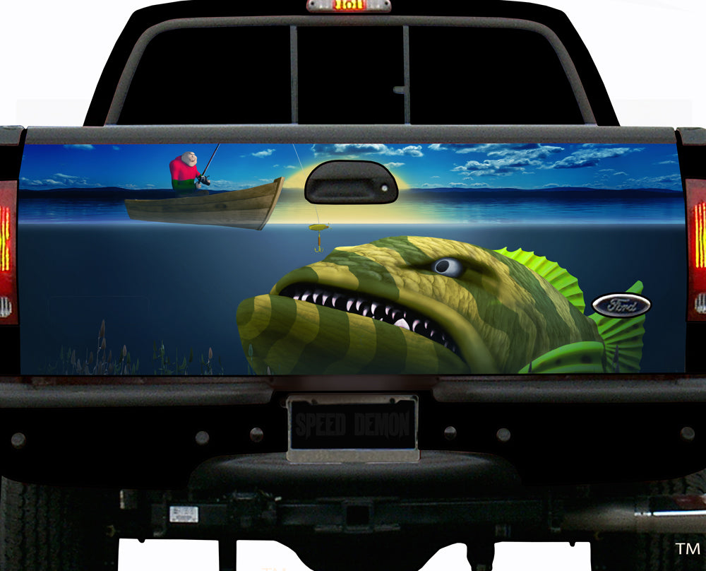 Grouper Tailgate Wrap