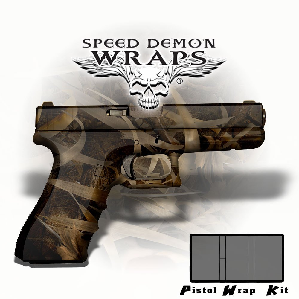 Gun Wraps - Universal Skins ~ Badlands Fallout Camouflage - Speed Demon Wraps