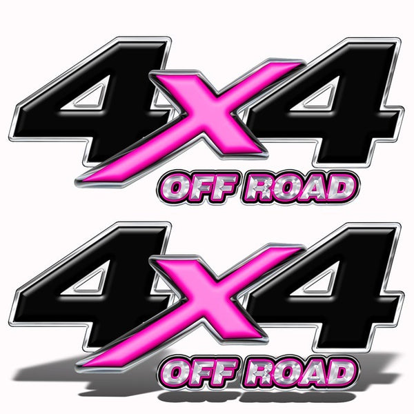 4X4 Decals Pink - Speed Demon Wraps
