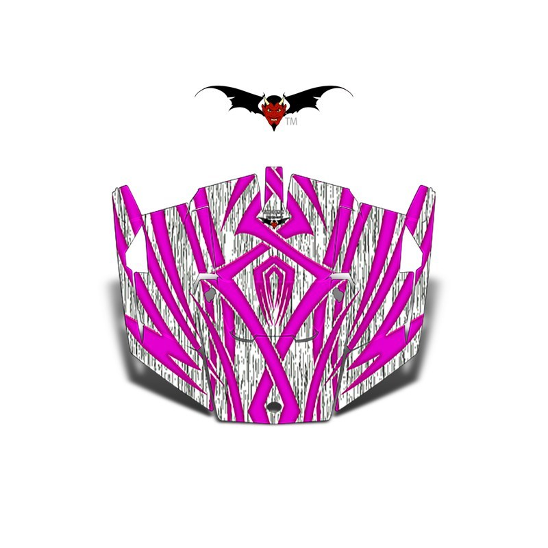 Pink-Tribal_XP-1000-Hood-Graphics