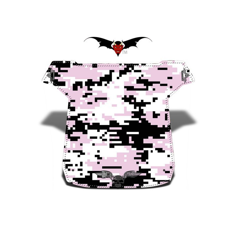 Pink Digital Camo XC Graphic Kits Roof