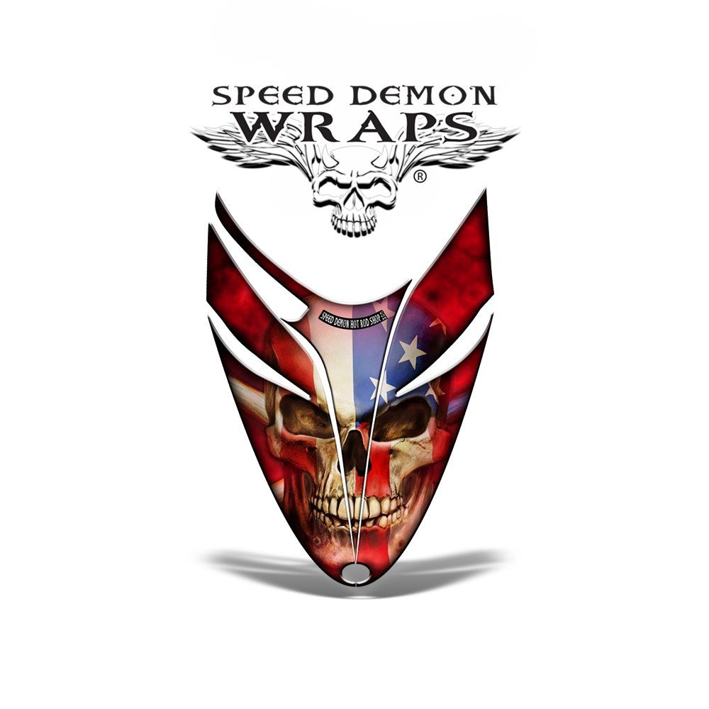 RMK Dragon Snowmobile sled GRAPHICS WRAP KIT for Polaris Dragon - Patriot - Speed Demon Wraps