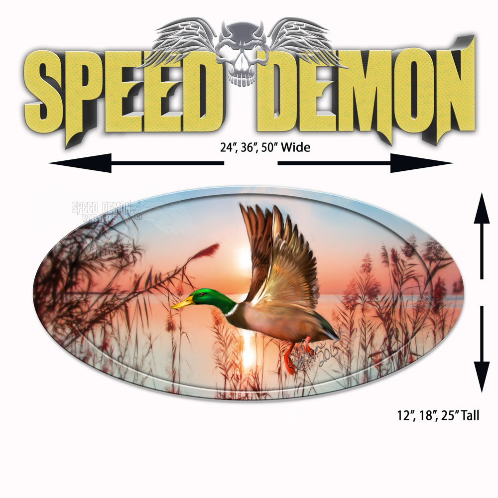 5th Wheel Trailer Graphics Mallard Duck Decal