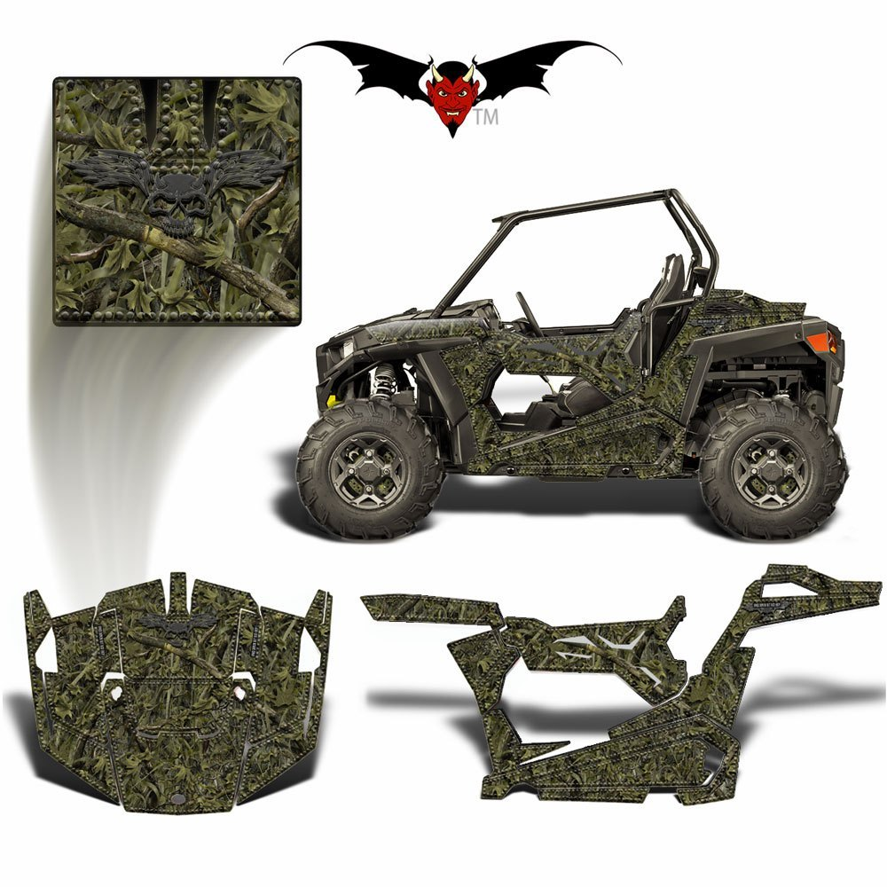RZR Everglades Camo Graphics wrap