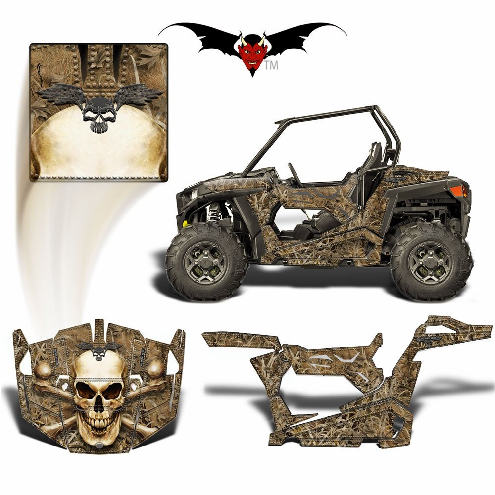 RZR Graphics Duck Camo Bone Collector-skull