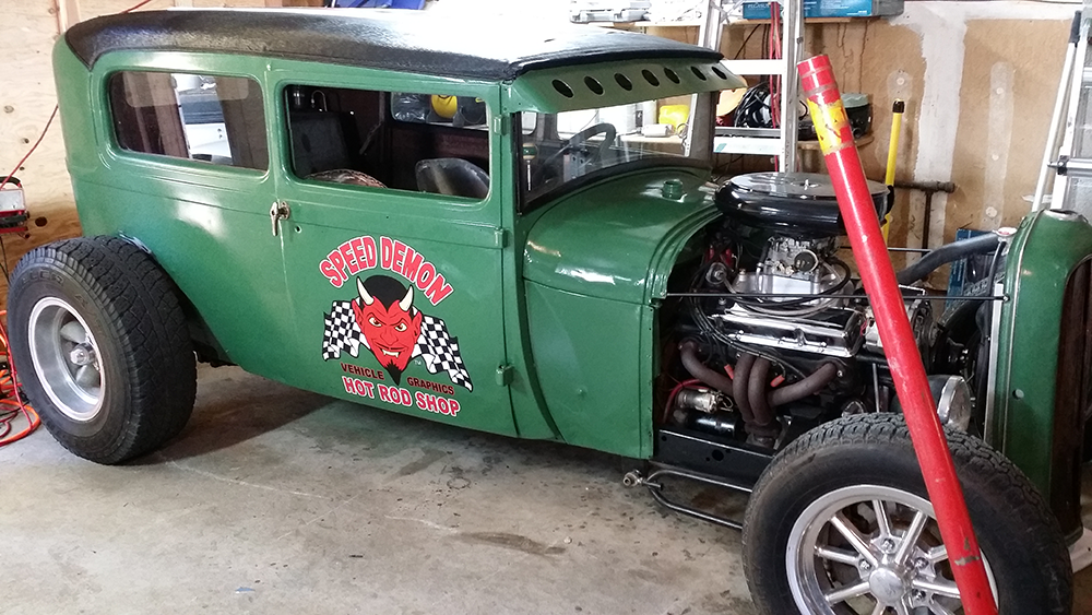 Rat Rod for Lighter Color Vehicles