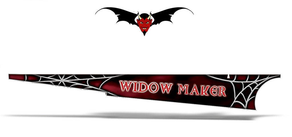 Sled Side Tunnle wraps Widow Maker