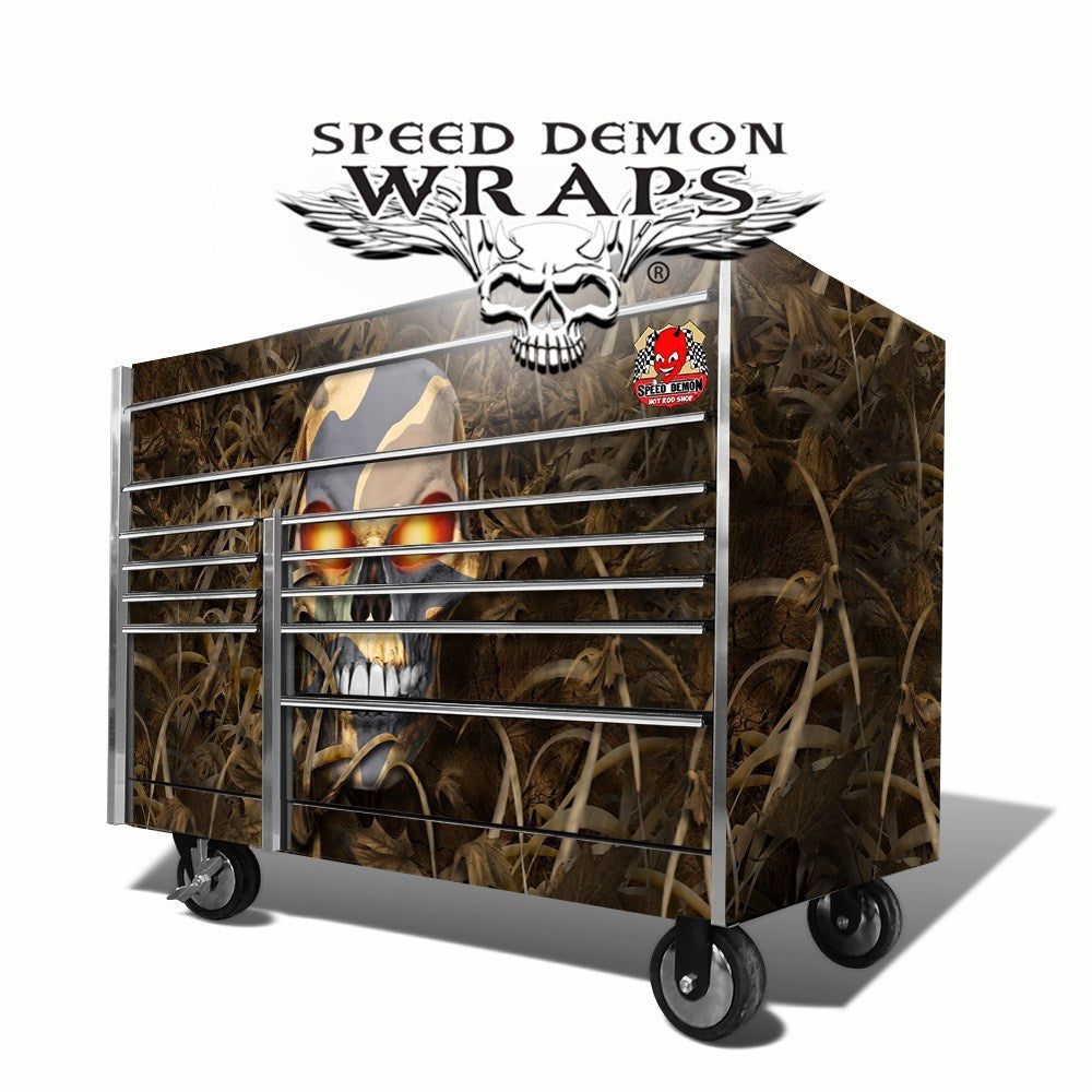 Snap On Tool Box Graphics Wrap Skins Fallout Camouflage