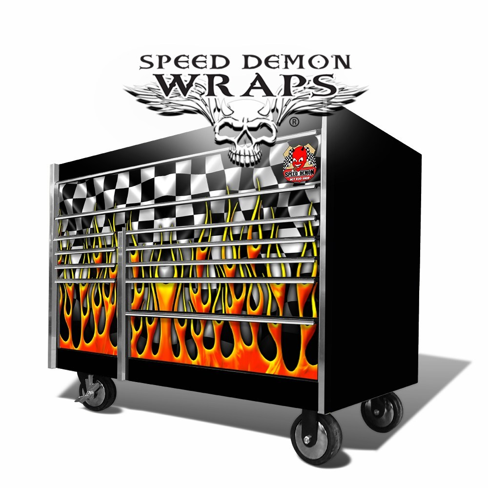 Tool Box Graphics Wrap Skins