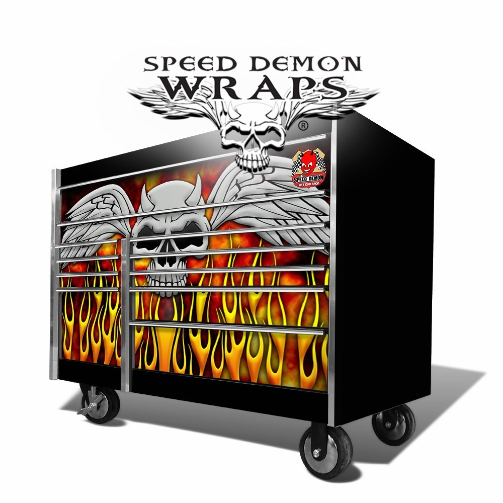 Snap On Tool Box Graphics Wrap Skins