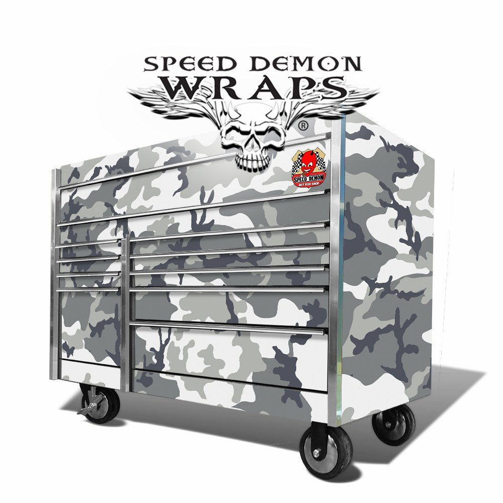 Snap On Tool Box Graphics Wrap Skins Urban Camouflage