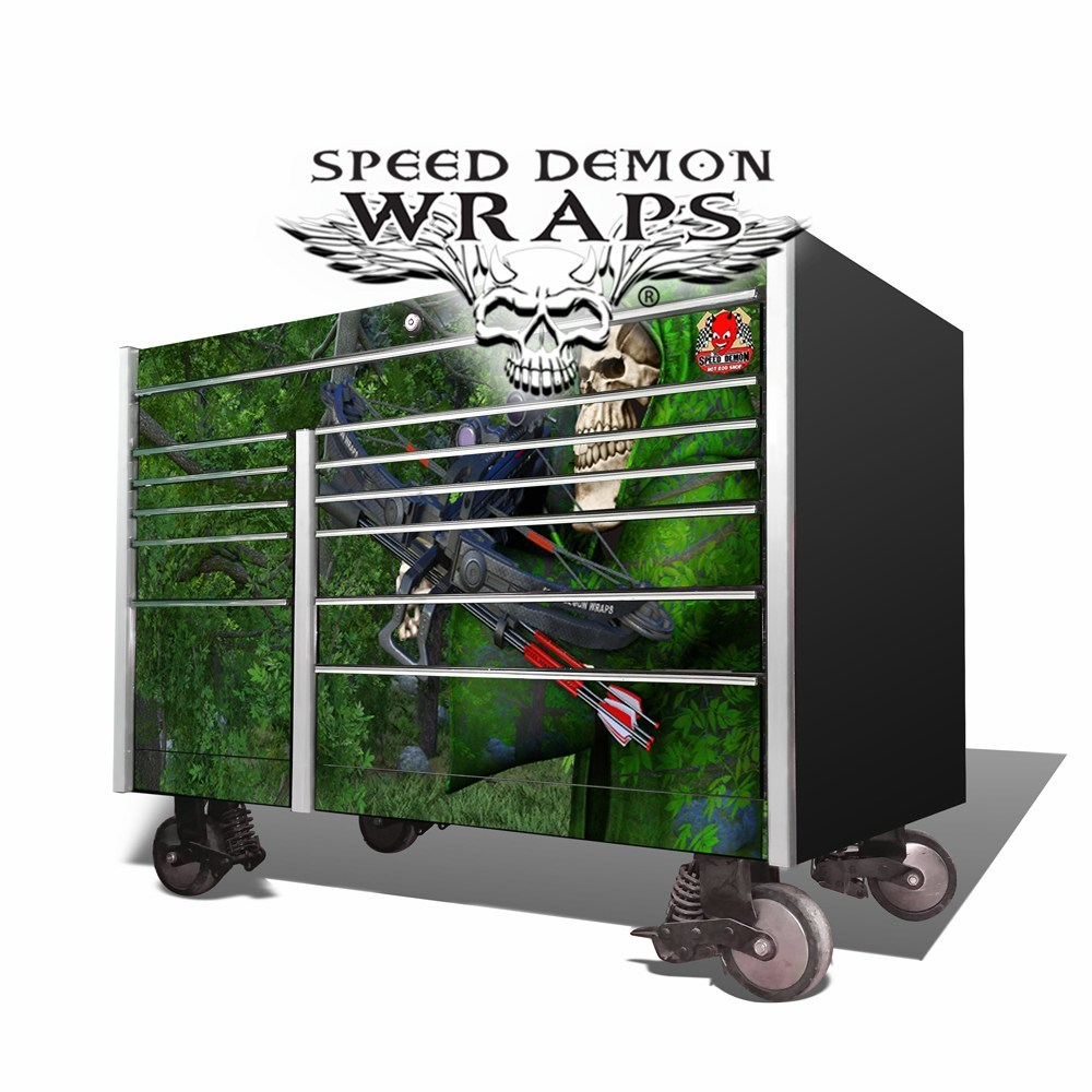 Snap-On Toolbox Wrap Bow Reaper Camo KRL-7002