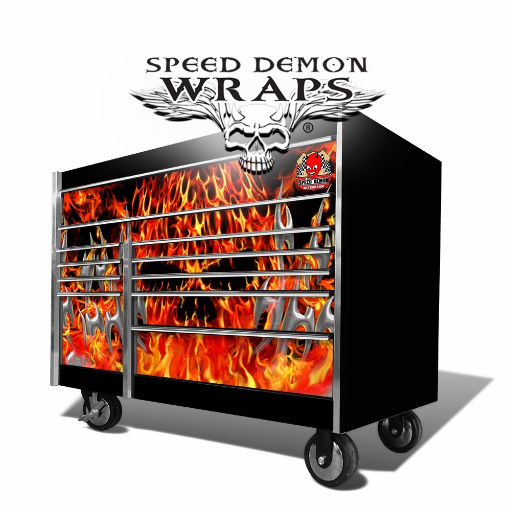 Snap-On Toolbox Wrap God of Fire
