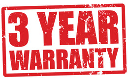 Xspurt Injectors all come with a 3 Year Warranty