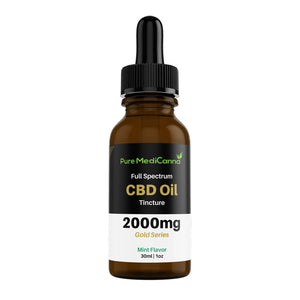 Full Spectrum CBD Tincture - 2000mg - PMC