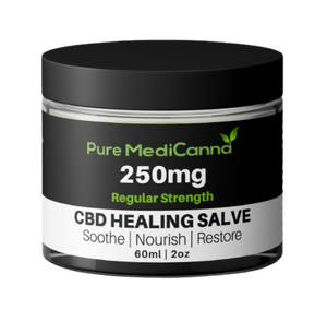 All Natural 250mg CBD Salve - Regular Strength - PMC