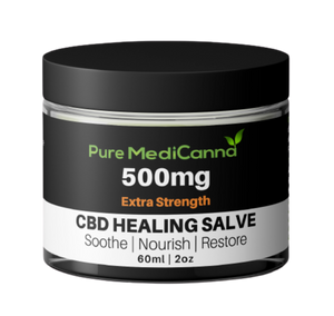 All Natural 500mg CBD Salve - Extra Strength - PMC