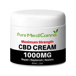 CBD Cream - 1000mg - PMC